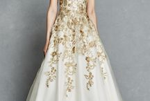Gold weddingdresses