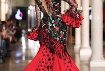 Sevillane costumes tendance