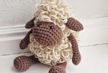 Crocheted small animals