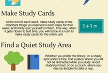 Study Tips / Studying Tips for High School Students.
