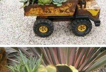 jardines divertidos