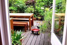 Backyard Inspirations / Dreaming about my backyard