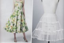 SEWING - PETTICOATS