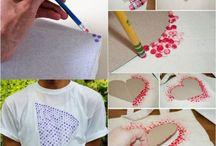 T-Shirt bemalen