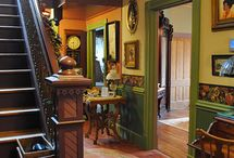 Victorian Walls / Victorian, Edwardian, 5th Avenue Style, Eastlake Style, Aesthetic Movement, Arts and Crafts and inspired.