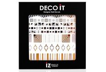 Metallic Nail Art Decals / Metallic Nail Decals from UK based nail art brand, iZ Beauty LDN