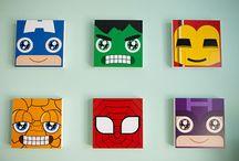 super heroes cdros
