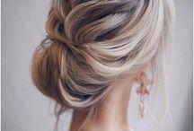 Hair & Wedding Dresses