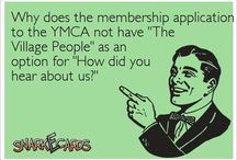 YMCA people / It's fun to stay/work/have fun at the YMCA