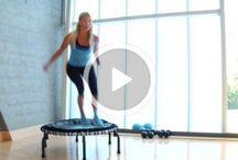 Trampolin-workout