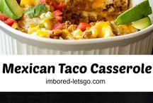 food: casserols/ ovenschotels