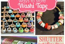 Washi Tape Wow! / Some great ideas to put your cool Wash Tape designs to creative use. Also some nifty tips to store your collection.