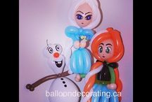 Olaf balloon tutorial and more/child sex slavery prevention