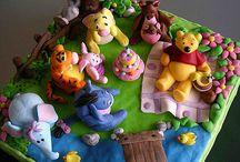 Winnie the Pooh cake / by Stephania Kyriakides