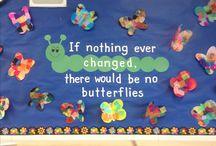 School: boards/walls/doors decoration ideas