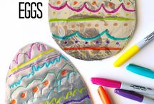 easter / easter kids crafts, desserts, recipes, decorating ideas and DIY tutorials