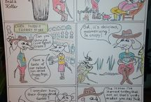 My comics / It's about the comics I draw for upper-grade children.