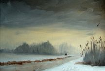 ARTIST  Kieron Williamson 12 years old painter / Oil painting so talented
