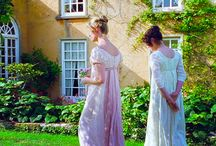Costume Movies / 〰Jane Austen〰 Pride and Prejudice Emma Sense and Sensibility  〰Elizabeth Gaskell〰 North and South
