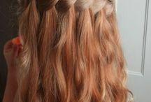 Little girl's hair design / by Anne Hall