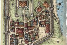 D&D cities map
