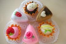 Crafts:Felt sweets