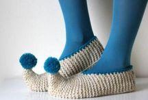 Crochet - Slippers & Legwarmers