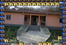 ciorba rock club  / it is a progect of turning an old but solid building in a comercial- cultural enviorment