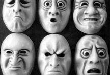 Gave Maskers / Dit Zijn 30 Maskers Met Emoties.
