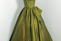 Fashion: Evening Gowns / Vintage fashion of elegance