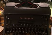 vintage typewriters / we are proud of our collection of vintage typewriters. we've found some real gems over the years, with more great finds to come!