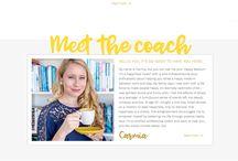 Wordpress Website // Graphic Girl Design