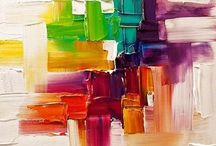 Pictura abstracta - Abstract painting