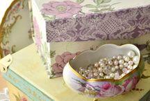 Cajitas Decorativas / Para darle un toque especial a tu vida y a tu hogar...