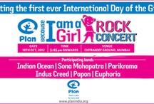 Plan India Rock Concert Because I am a Girl