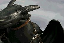 Hiccup and Toothless / How to Train Your Dragon 1-2, Dragons-Riders of Berk etc.