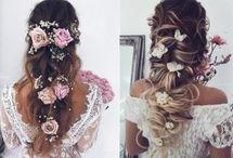 Bride hair do