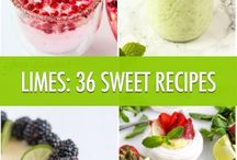 Limes:36 Sweet Recipes