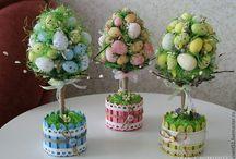 весна,Пасха,декоративные композиции,фотографии