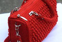 Quênia bolsa de crochê