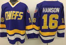 NHL slap shot Movie Jerseys