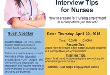 Job & Interview Workshop / Upcoming Job and Interview Workshop for Nurses