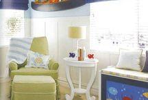 Nursery/Toddler Room Ideas / ocean/ underwater/ nautical theme ideas for baby nursery