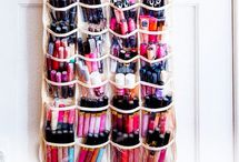 Tips organized make up