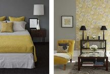 Yellow and Grey / Decor Inspiration / by Christine Feight