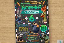 zootopia birthday party