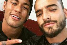 Maluma i Neymar JR