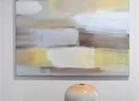 Abstract Canvas Art / by Leslie McGrath