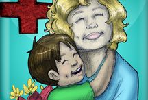 Visiting Mommy in the Hospital  / The first time a child visits his or her mother in the hospital can be a scary experience. Try easing the tension  by downloading Book 8: Luca Lashes Visits Mommy in the Hospital