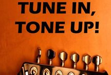 Tune in, Tone up! Free Guitar Lessons / Guitar lessons, guitar, podcast of our guitar lessons and links to our supporting website